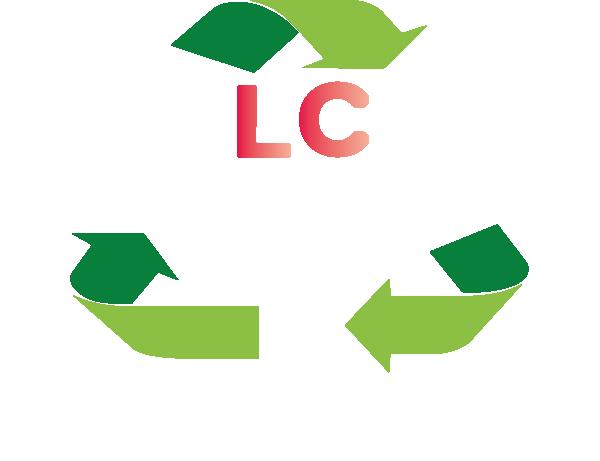 Logo Lc Locatrans location de bennes en drome ardeche png